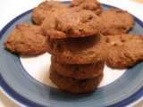 Recipe Vegan cashew butter gingersnap cookies (grain, gluten, and dairy free)