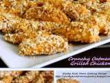 Recipe Healthy crunchy oatmeal grilled chicken recipe
