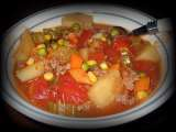 Recipe Hamburger soup (slow cooker)