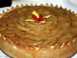 Recipe Apple calvados cheese cake