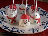 Recipe 12 days of goodies- day 5: christmas brownie pops
