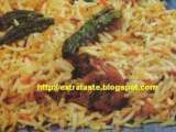 Recipe Chicken and ladyfinger biryani (chicken aur bhindi ki biryani)
