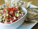 Recipe Fruit salsa and cinnamon chips