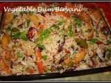 Recipe Vegetable dum biryani