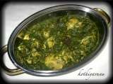 Recipe Saagwala murg /spinach/palak chicken curry