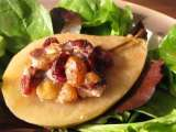 Recipe Roasted stuffed pears
