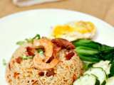 Recipe Smoked duck fried rice