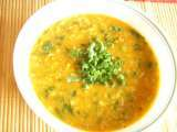 Recipe Vengaya thal sambar/ green onion sambar