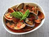 Recipe Clams posillipo