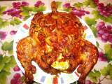 Recipe Kozhi nirachathu / stuffed chicken