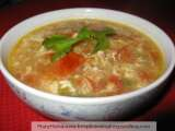 Recipe Turkey mince tomato egg soup