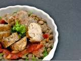 Recipe Sausage and green lentils