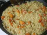 Recipe Roasted red pepper barley risotto