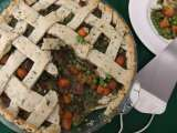 Recipe Curried beef potpie in parsley pastry crust