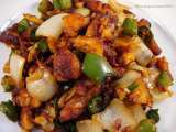 Recipe Indo-chinese style chilly fish dry