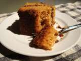 Recipe Sour cream coffee cake with chocolate cinnamon swirl