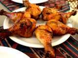 Recipe Oven-roasted chicken drumsticks/legs