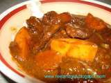 Recipe Kalderetang baka (beef caldereta or filipino beef stew)