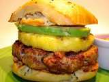 Recipe Pineapple-chorizo burgers