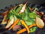 Recipe Sexy side salad with roasted fruit and veg