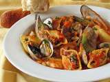 Cioppino & pasta best of both worlds