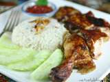 Recipe Chicken rice/nasi ayam