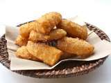 Recipe Thai style deep-fried bananas