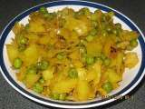 Recipe Cabbage and peas vegetable