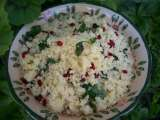 Recipe Couscous with mint & barberries