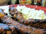 Recipe Asian barbecued pork ribs