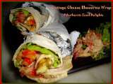 Recipe Cottage cheese shawarma wrap