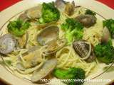 Recipe Japanese asari pasta = clam pasta