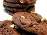 Recipe Eggless chewy chocolate cashew cookies