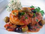 Recipe Chicken marengo the famous french dish invented by napoleon's battlefield