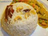 Recipe Ghee rice with vegetable kurma