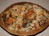 Recipe Spicy kerala style fish biriyani