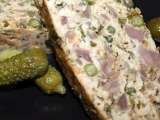 Recipe Ground pork and chicken gizzard terrine gives one an inexpensive way to gourmet