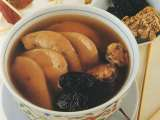 Recipe Chinese pig's liver soup with ligusticum and black date