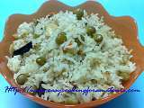 Recipe Green peas ghee rice