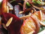 Recipe Beetroot citrus salad