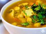 Recipe My take of moroccan hariara soup ....