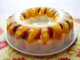 Recipe Mango yogurt, peach and grape jelly