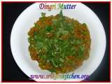 Recipe Dingri mutter-mushroom peas masala