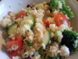 Recipe Couscous salad with lemon vinaigrette