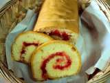 Recipe Homemade swiss roll