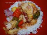 Recipe Sweet and sour chicken
