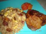 Recipe Chinese fried rice or yang chow fried rice