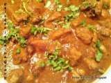Recipe Chicken curry ~ chicken in onion gravy