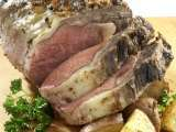 Recipe Perfect rib roast, succulent and savory