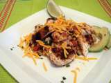 Recipe Spicy grilled chicken with baja black beans and rice